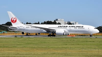 JA872J - Boeing 787-9 Dreamliner - Japan Airlines (JAL)
