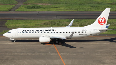 A picture of JA331J - Boeing 737846 - Japan Airlines - © NRT Spotter
