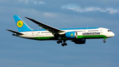 UK78702 - Boeing 787-8 Dreamliner - Uzbekistan Airways