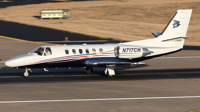 N717CH - Cessna 550B Citation Bravo - Private