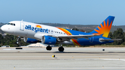 A picture of N312NV - Airbus A319111 - Allegiant Air - © global_flyer1