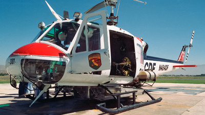 N484DF - Bell UH-1F Iroquois - United States - California Department of Forestry