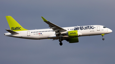 YL-AAQ - Airbus A220-371 - Air Baltic