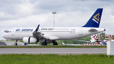 P4-KBF - Airbus A320-232 - Air Astana