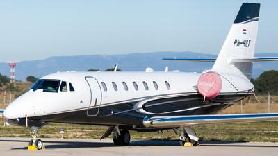 PH-HGT - Cessna 680 Citation Sovereign Plus - Air Service Liège (ASL)