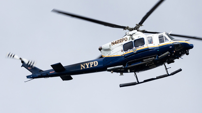N422PD - Bell 412EP - United States - New York City Police Aviation