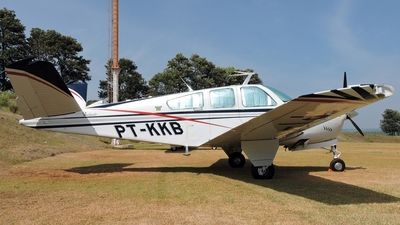 PT-KKB - Beechcraft V35B Bonanza - Private