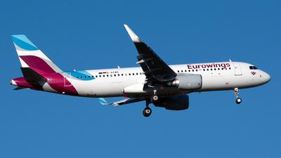 D-AEWE - Airbus A320-214 - Eurowings