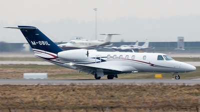 M-OBIL - Cessna 525 Citation CJ4 - Private