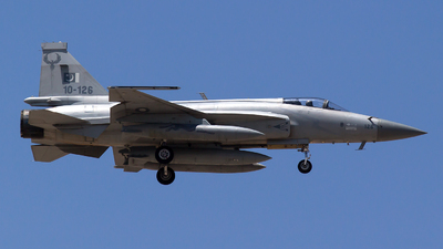 10-126 - Chengdu JF-17 Thunder - Pakistan - Air Force