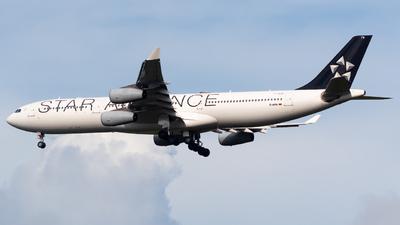 D-AIFA - Airbus A340-313X - Lufthansa CityLine