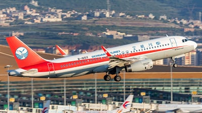 B-1662 - Airbus A320-232 - Sichuan Airlines