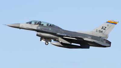 85-1514 - Lockheed Martin F-16D Fighting Falcon - United States - US Air Force (USAF)