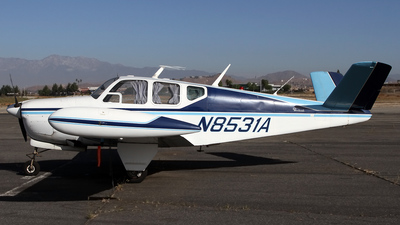 N8531A - Beechcraft A35 Bonanza - Private