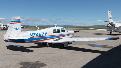 N7457V - Mooney M20F - Private
