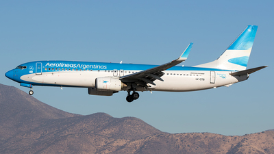 LV-CTB - Boeing 737-85F - Aerolíneas Argentinas