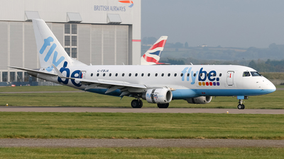 G-FBJA - Embraer 170-200STD - Flybe