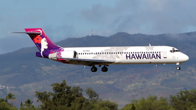 A picture of N479HA - Boeing 71722A - Hawaiian Airlines - © kouyagi