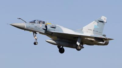 105 - Dassault Mirage 2000C - France - Air Force