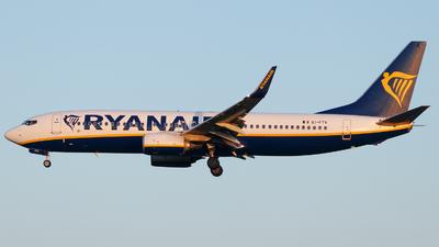 EI-FTV - Boeing 737-8AS - Ryanair