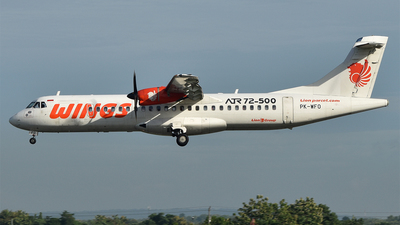 PK-WFO - ATR 72-212A(500) - Wings Air