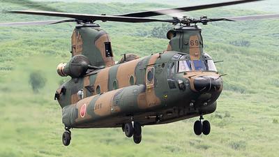 52969 - Kawasaki CH-47J Chinook - Japan - Ground Self Defence Force (JGSDF)