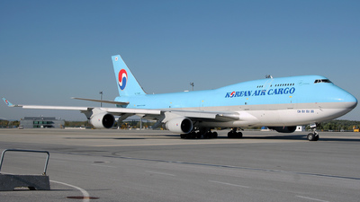 HL7486 - Boeing 747-4B5(BCF) - Korean Air Cargo