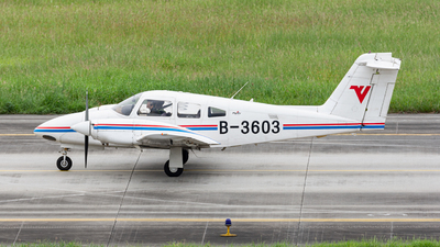 B-3603 - Piper PA-44-180 Seminole - Civil Aviation Flight University of China