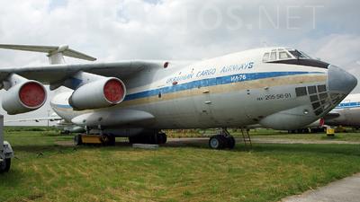UR-UCI - Ilyushin IL-76MD - Ukrainian Cargo Airways (UCA)
