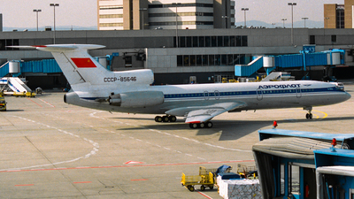 CCCP-85646 - Tupolev Tu-154M - Aeroflot
