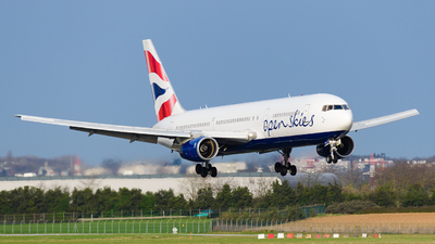 F-HILU - Boeing 767-336(ER) - Open Skies (British Airways)