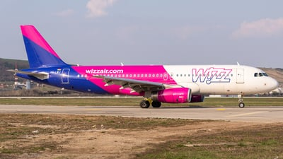 HA-LWJ - Airbus A320-232 - Wizz Air