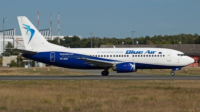 YR-BAP - Boeing 737-3Y0 - Montenegro Airlines (Blue Air)