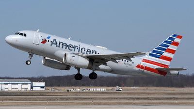 A picture of N835AW - Airbus A319132 - American Airlines - © DJ Reed - OPShots Photo Team