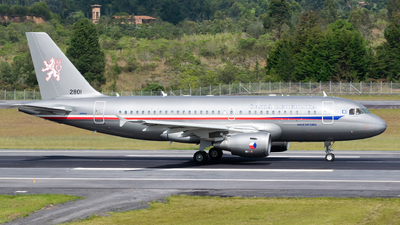 2801 - Airbus A319-115X(CJ) - Czech Republic - Air Force