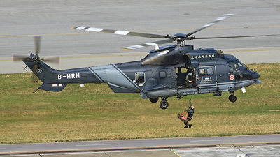 B-HRM - Aérospatiale AS 332L2 Super Puma - Hong Kong - Government Flying Service (GFS)