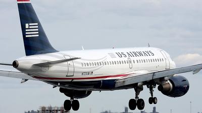 N721UW - Airbus A319-112 - US Airways