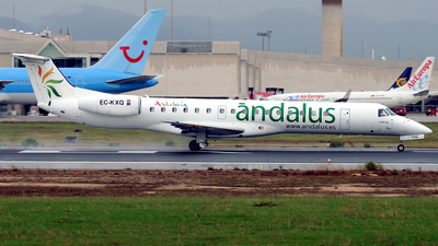 EC-KXQ - Embraer ERJ-145EU - Ándalus Líneas Aéreas