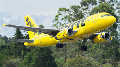 N509NK - Airbus A319-132 - Spirit Airlines