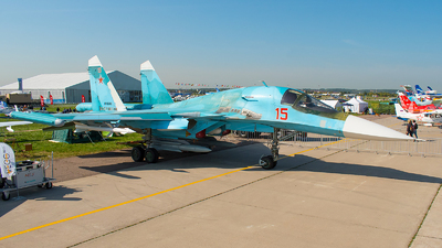 RF-95846 - Sukhoi Su-34 Fullback - Russia - Air Force