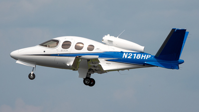 N218HP - Cirrus Vision SF50 G2 - Cirrus Design Corporation