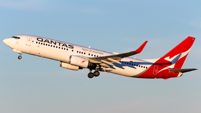A picture of VHVYI - Boeing 737838 - Qantas - © Leon Aviation