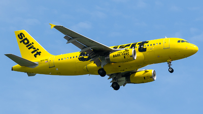 A picture of N507NK - Airbus A319132 - [2560] - © Evan Dougherty