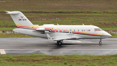 A picture of 9MATM - Bombardier Challenger 605 - [5844] - © Prestley Shim