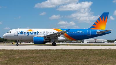 N219NV - Airbus A320-214 - Allegiant Air