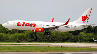 A picture of PKLPV - Boeing 7378GP - Lion Air - © Herison Riwu Kore