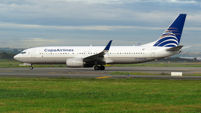HP-1848CMP - Boeing 737-8V3 - Copa Airlines