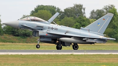 31-00 - Eurofighter Typhoon EF2000 - Germany - Air Force
