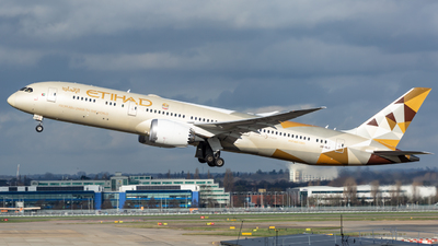 A picture of A6BLD - Boeing 7879 Dreamliner - Etihad Airways - © Leo Sheng
