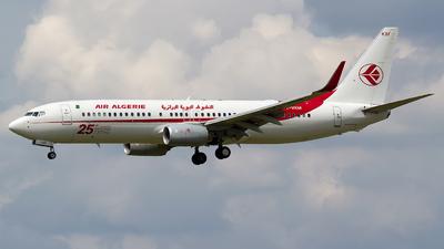 7T-VKM - Boeing 737-8D6 - Air Algérie